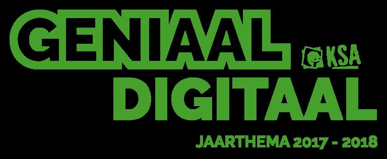 Jaarthema 2017-2018 Digitaal Geniaal